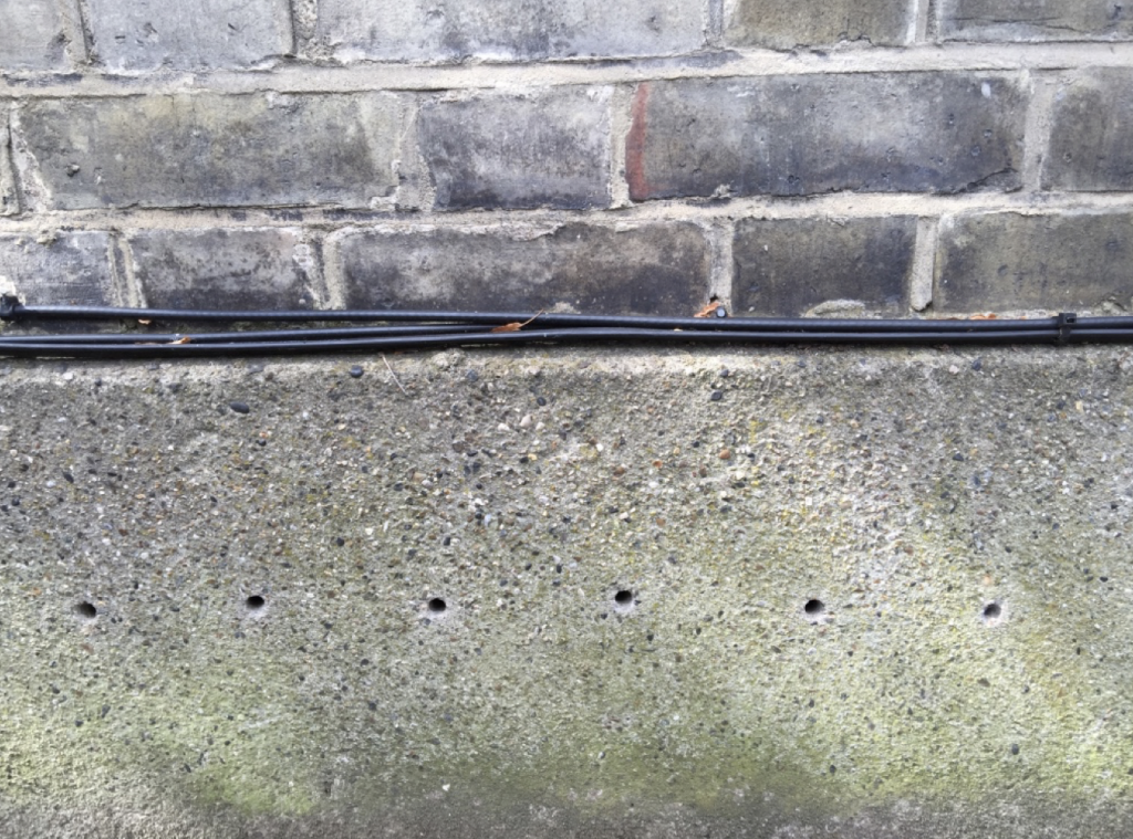 Injection Damp proof course