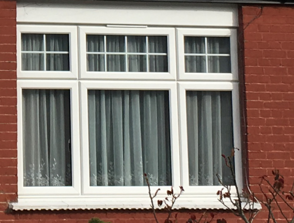 Property construction through the ages windows at a for Double glazed window units